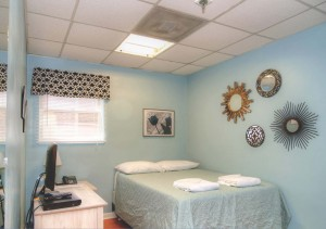 Bedroom in the Ronald McDonald House