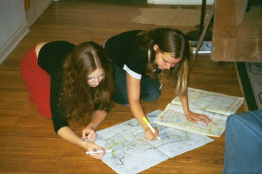 Planning for the Volunteer Road Trip