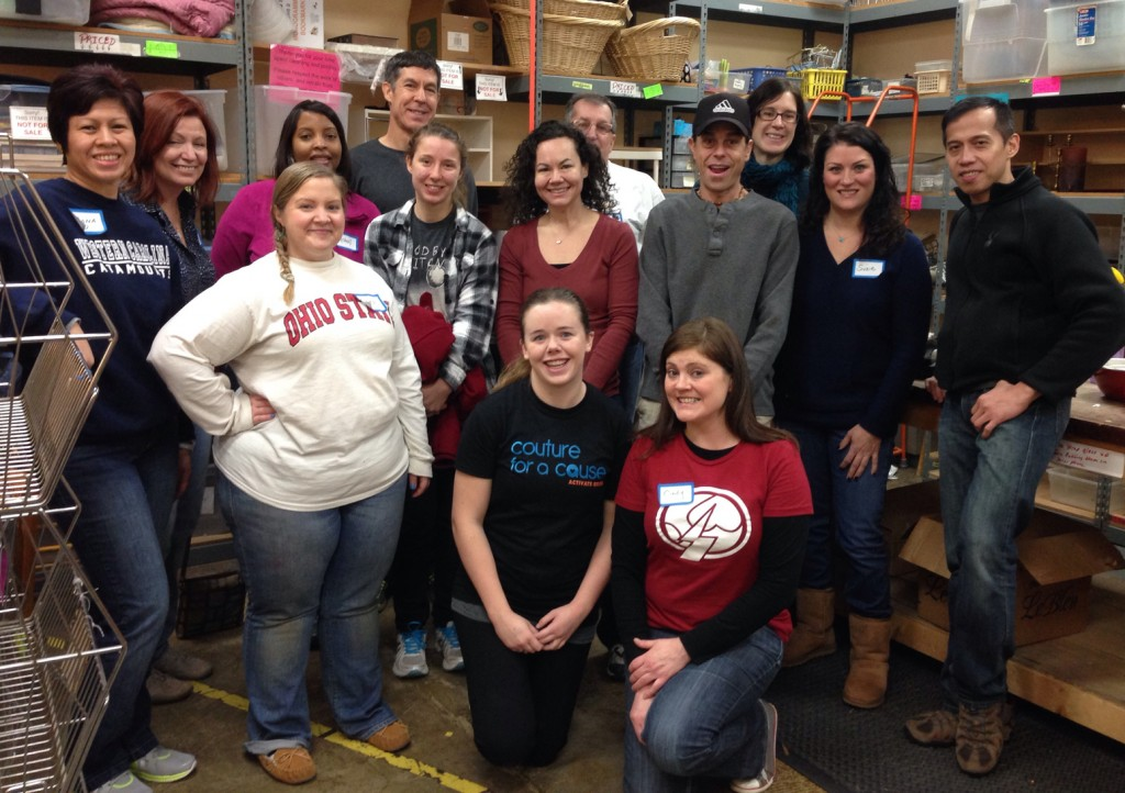 Activate Good Volunteers for ReTails Thrift Shop project