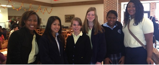 Activating Schools: WYWLA girls serve and lead