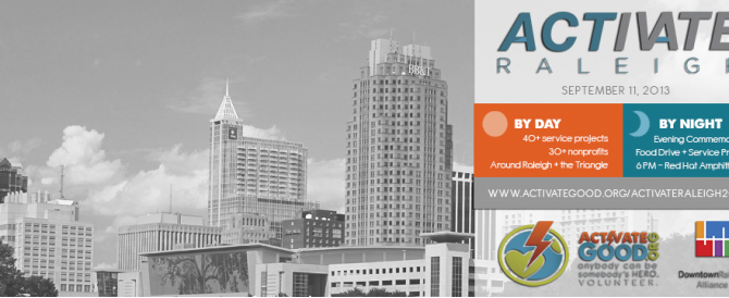 Help Spread the Word: Activate Raleigh 2013 – 9/11 Day of Service